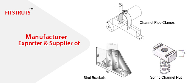 Stainless Steel Strut Brackets Strut Brackets Strut Support Brackets
